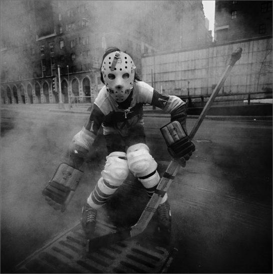 Arthur Tress, Hockey Player