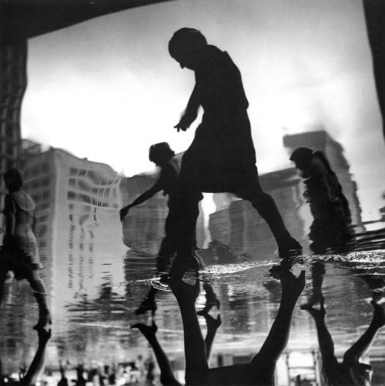 Arthur Tress, Office Workers Returning Home