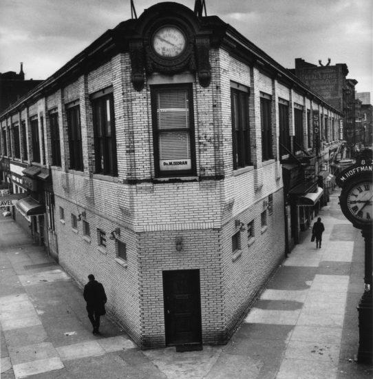 Arthur Tress, Two Streets, Two Clocks