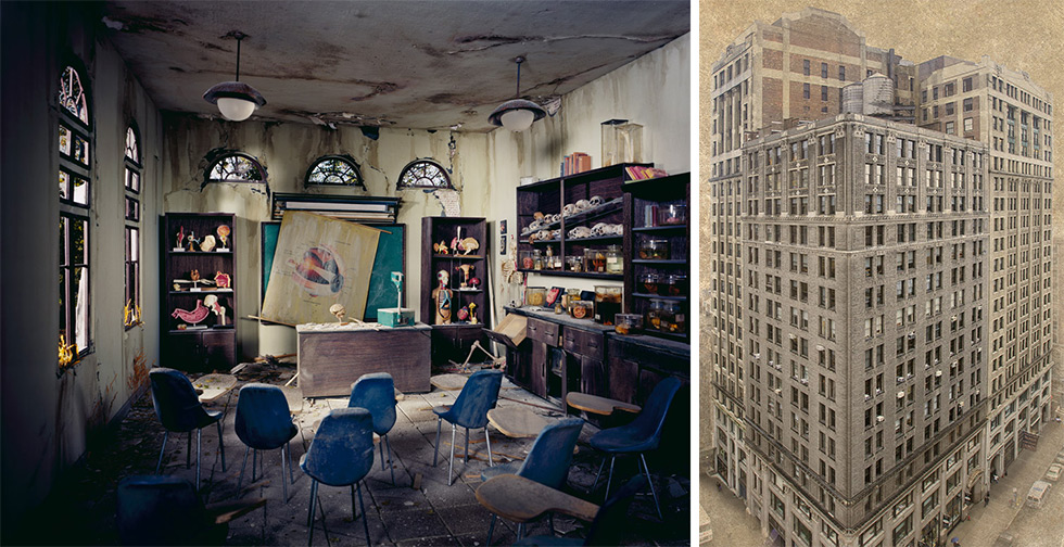 "Work by Lori Nix and Marc Yankus included in ""Of Time and Buildings"" at the George Eastman House"