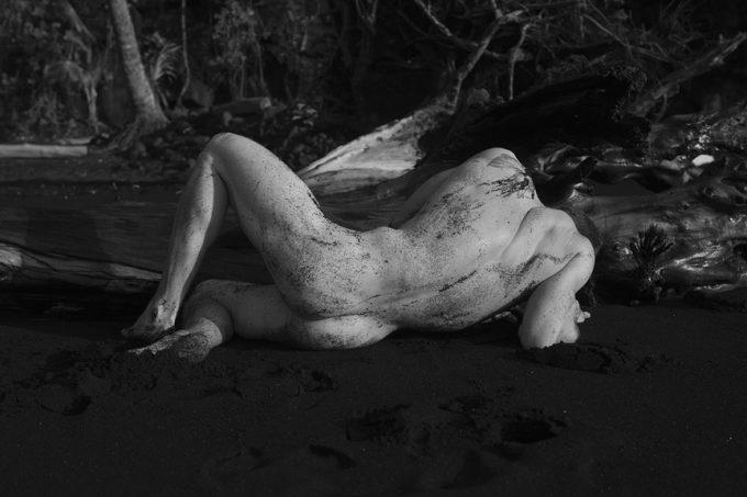 Nick Turner, Untitled (Black Sand)