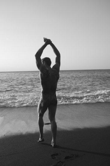 Nick Turner, Untitled (Stretching)