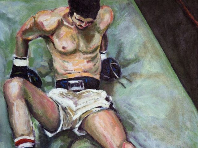 Carlo Pittore, Reclining Boxer