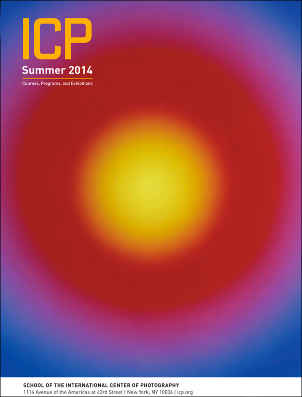 Bill Armstrong's photograph on the cover of the ICP Summer Catalogue