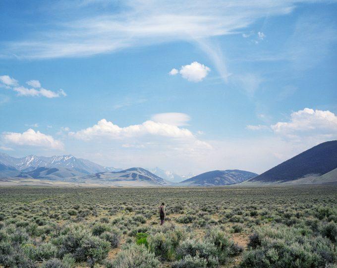 Adrain Chesser, Sage Field, Lone Pine Ridge, ID