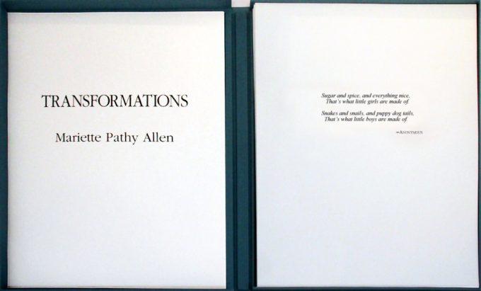 Mariette Pathy Allen, Transformations portfolio