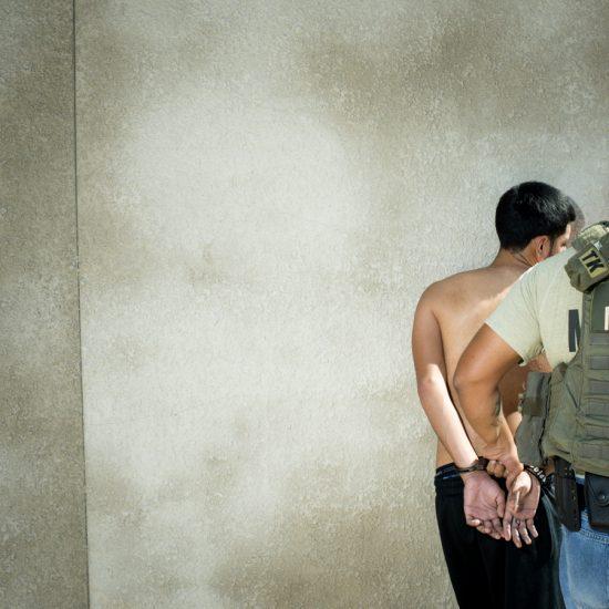 Brian Finke, Untitled (U.S. Marshals, South Texas, #144)