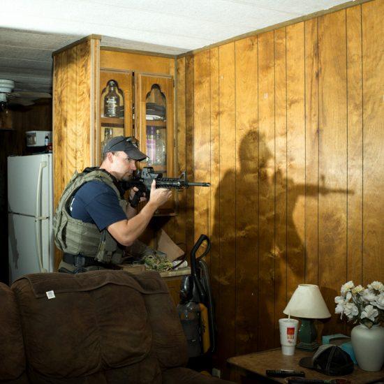Brian Finke, Untitled (U.S. Marshals, South Texas, #260)