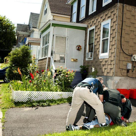 Brian Finke, Untitled (U.S. Marshals, Utica, #021)