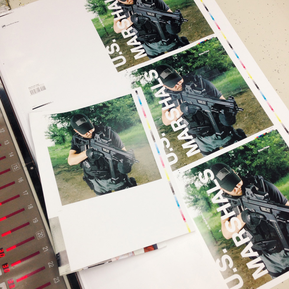Brian Finke is on press in South Korea