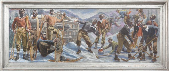 Mark Beard, Bruce Sargeant, Snow Scene