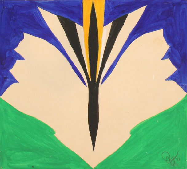 Jack Youngerman, Organic Abstraction