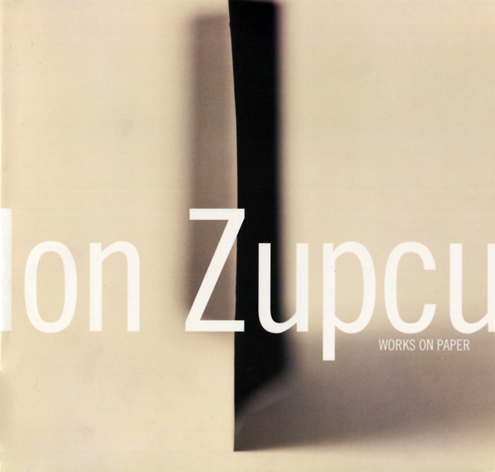 Ion Zupcu, Works on Paper