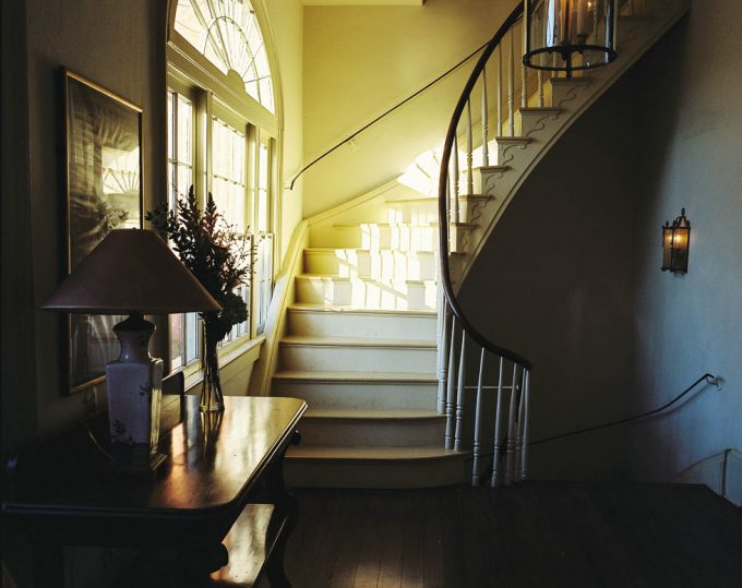 Sunlit Staircase, Palmer Davis