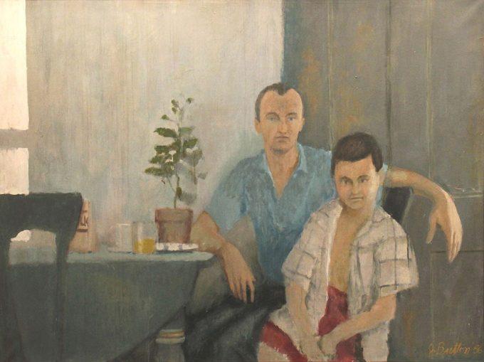 John Button, Frank O'Hara and Stevie Rivers