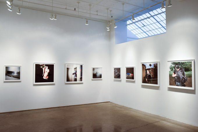 Brian Finke, U.S. Marshals exhibition, ClampArt