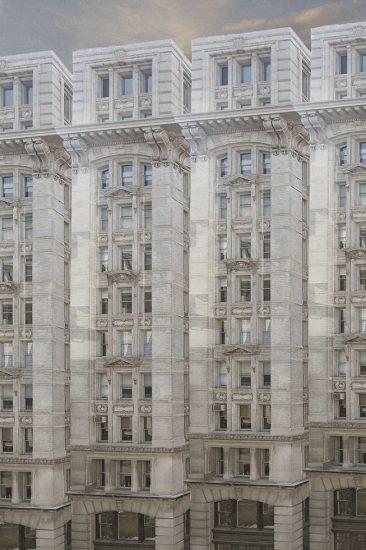 Row of White Buildings, Marc Yankus