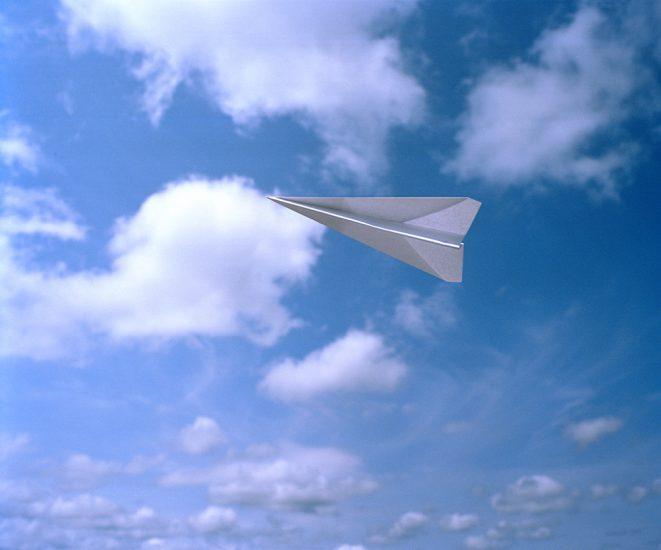 Adam Ekberg, Paper airplane