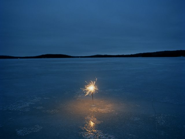 Adam Ekberg, A sparkler on a frozen lake
