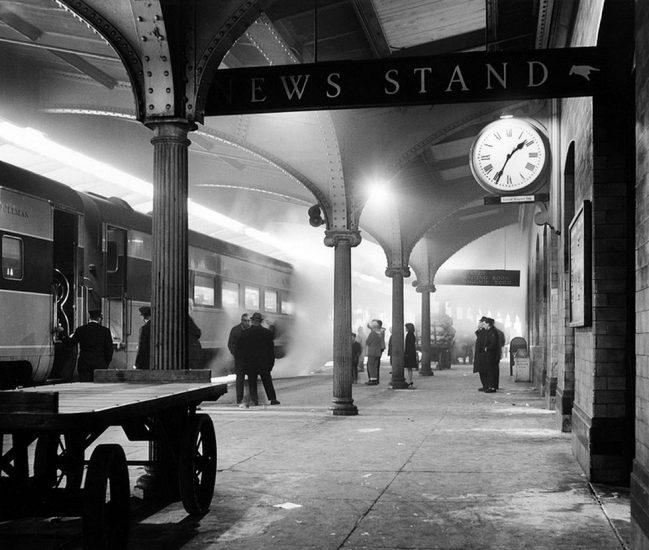 David Plowden, Delaware, Lackawanna and Western Railroad Station, Scranton, Pennsylvania