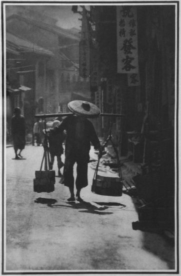 Baron Adolph De Meyer, A Street in China