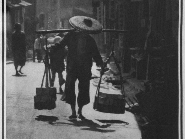 Baron Adolph De Meyer, A Street in China