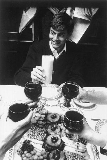 Will McBride, Mike beim Essen mit mir und seinen Eltern