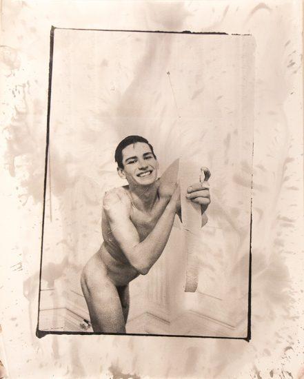 Mark Morrisroe, Self Portrait as Cupid