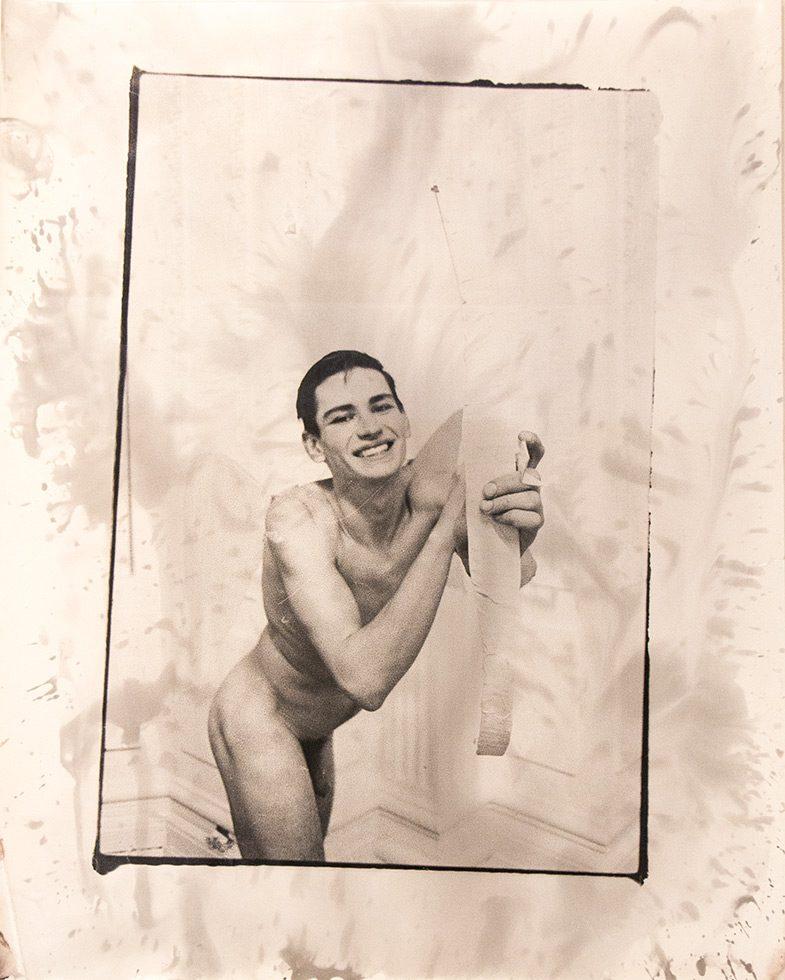 Self Portrait As Cupid