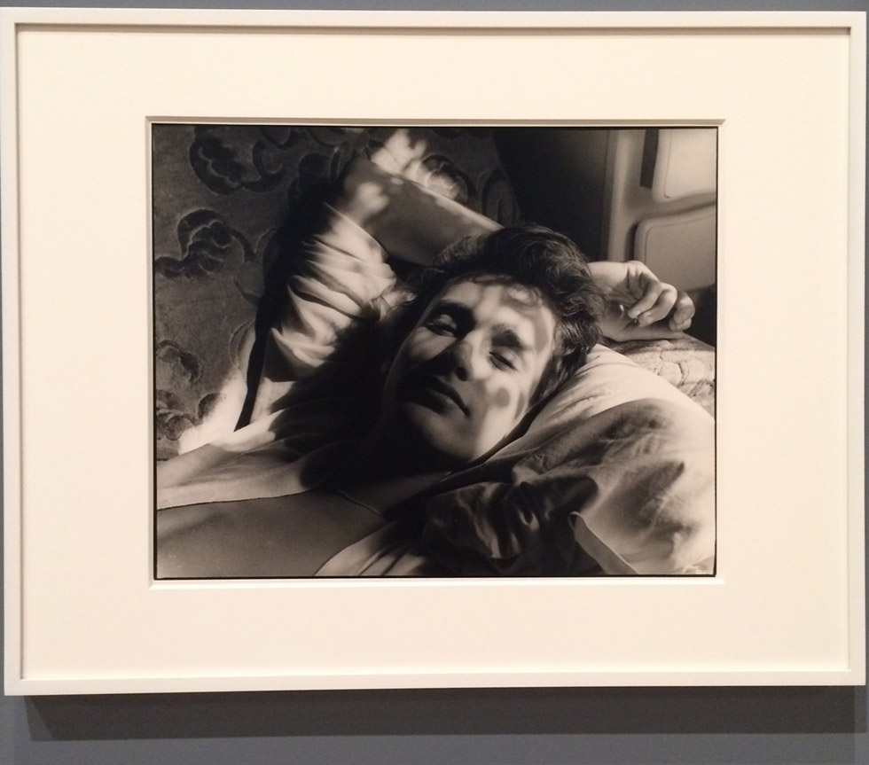 David Armstrong, Nan Goldin, and Mark Morrisroe at the Whitney Museum