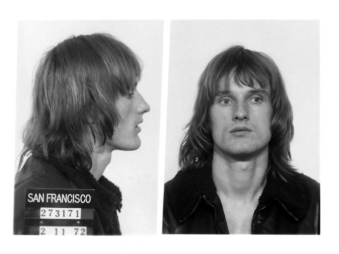 Peter Berlin, Wanted, Mug shot