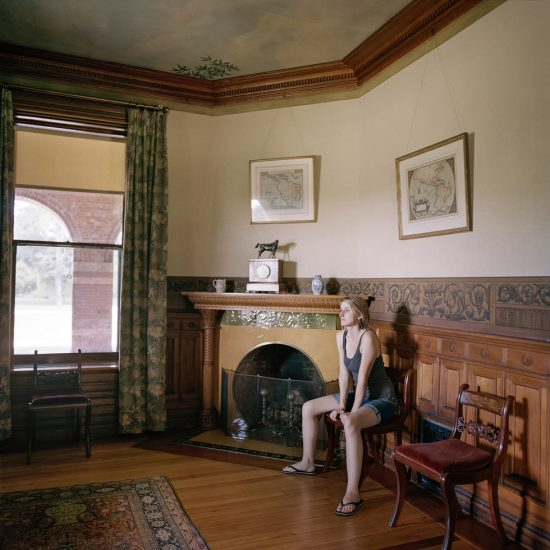 Denny, Frances F., Edith at home