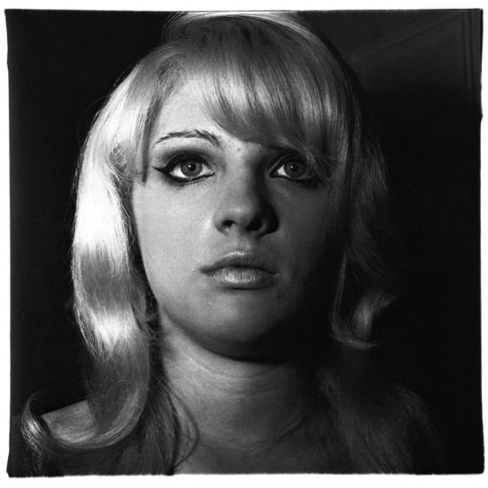 Diane Arbus, Blonde Girl with Shiny Lipstick