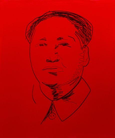 Vik Muniz, Study for Mao