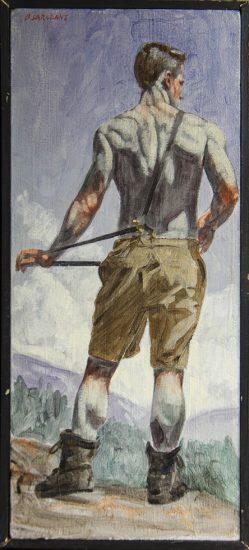 Mark Beard, [Bruce Sargeant] Mountain Hiking