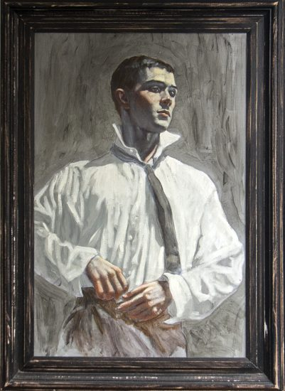Mark Beard, [Bruce Sargeant] Young Man Getting Dressed