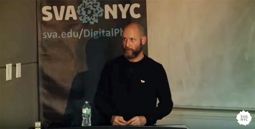 Brian Finke, i3 Talk at SVA