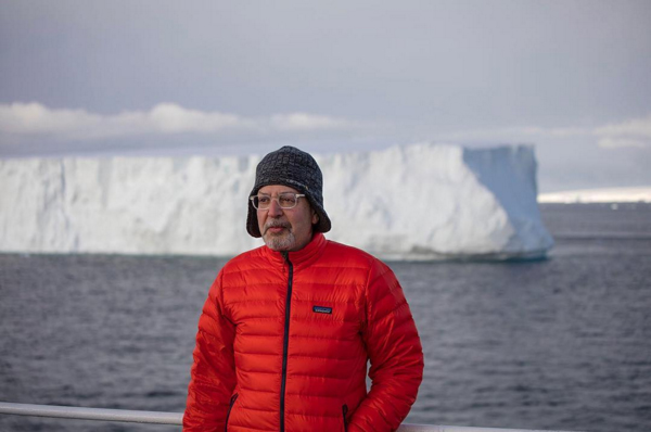 Marc Yankus in Antarctica