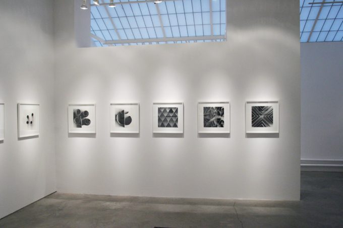 Ion Zupcu, New works on paper, installation image 3