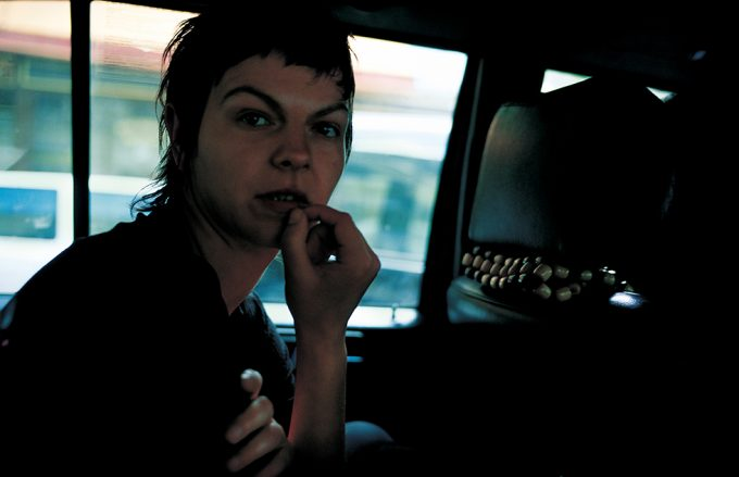 Nan Goldin, Valerie in the taxi