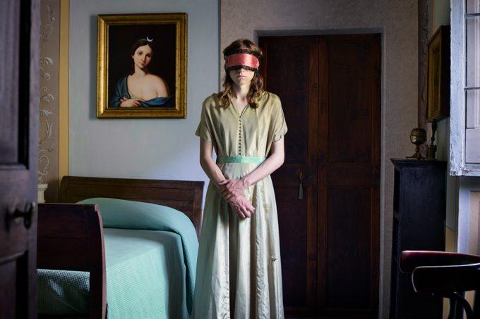 Lissa Rivera, Blindfold