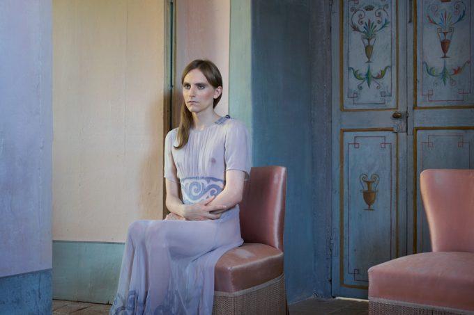 Lissa Rivera, Lavender Gown