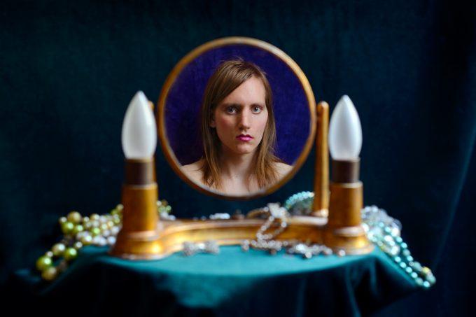 Lissa_Rivera, Mirror with Jewels