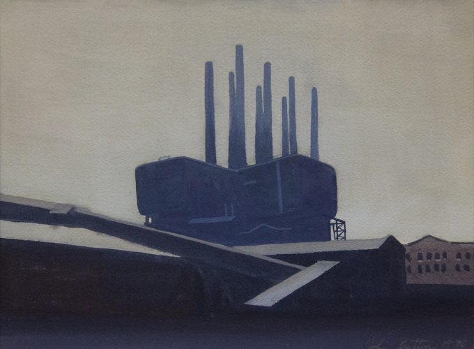 John Button, Industrial Buildings