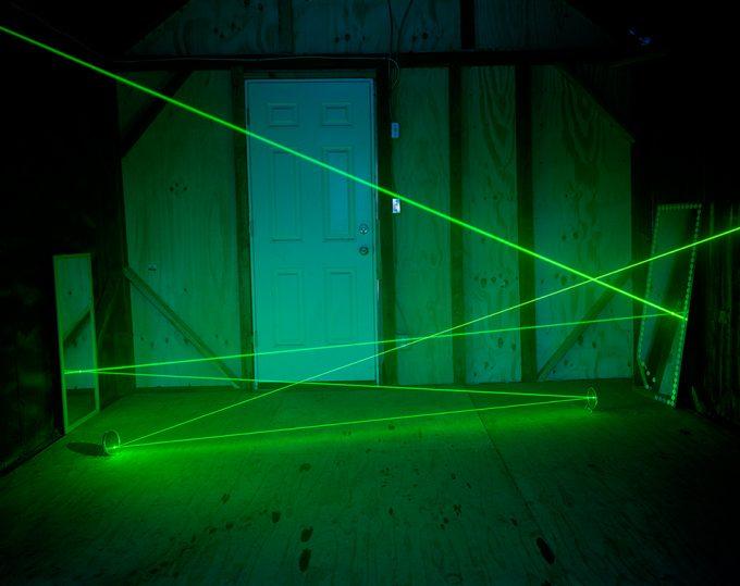 Adam Ekberg, A Laser Beam in a Cabin