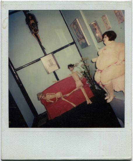Greer Lankton, Three Dolls from Civilian Warfare Exhibition