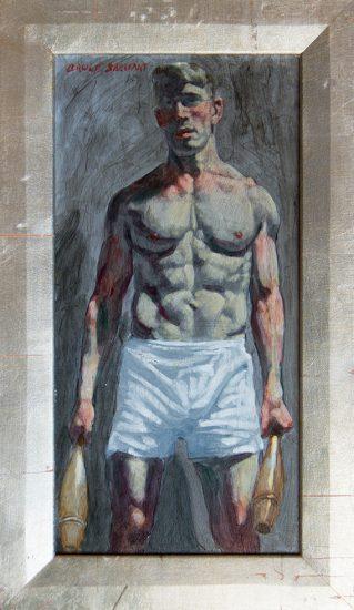 Mark Beard, Bruce Sargeant, Benjamin in Boxers