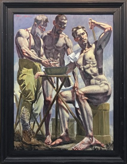 Mark Beard, Bruce Sargeant, Three Men Bathing