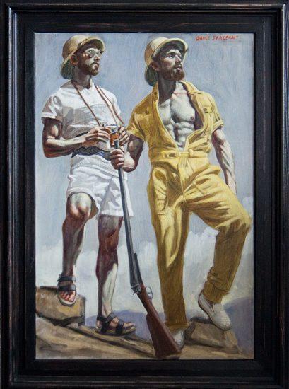 Mark Beard, Bruce Sargeant, Two Men on Safari