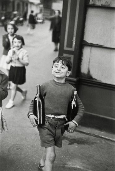 Henri Cartier-Bresson, Rue Mouffetard, Paris